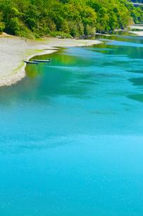 四万十川の清流の写真素材 [FYI02091627]
