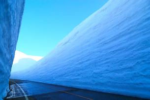 立山黒部 雪の大谷の写真素材 [FYI02091900]