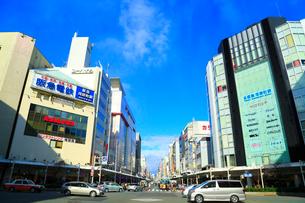 京都・四条河原町交差点の写真素材 [FYI02092333]