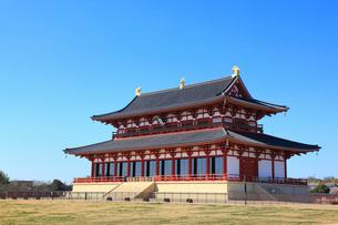 平城京跡・大極殿 の写真素材 [FYI02092615]