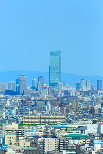 あべのハルカスと大阪・堺の街並みの写真素材 [FYI02093273]