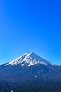 富士河口湖町から富士山の写真素材 [FYI02093448]