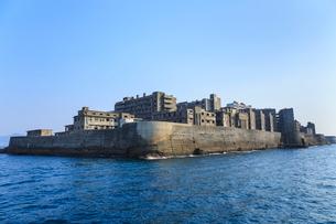 長崎 軍艦島の写真素材 [FYI02093796]