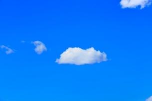 雲と青空の写真素材 [FYI02093800]