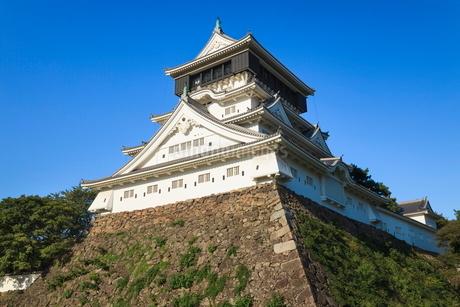 小倉城の写真素材 [FYI02094069]