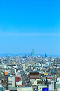 あべのハルカスと大阪・堺の街並みの写真素材 [FYI02094163]