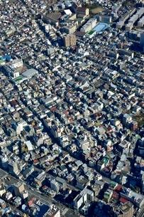 スカイツリー天望回廊より東京の街並みの写真素材 [FYI02095170]