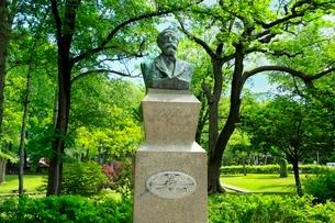 北海道大学 クラーク博士像の写真素材 [FYI02095322]