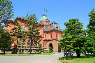 北海道庁旧本庁舎(赤れんが庁舎)の写真素材 [FYI02095738]