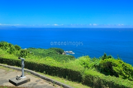 伊勢志摩,パールロードの鳥羽展望台から太平洋を望むの写真素材 [FYI02096246]