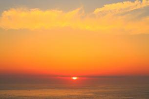 足摺岬の朝日と海の写真素材 [FYI02097754]