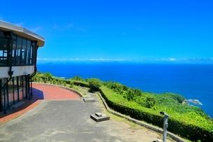 伊勢志摩,パールロードの鳥羽展望台から太平洋を望むの写真素材 [FYI02097756]