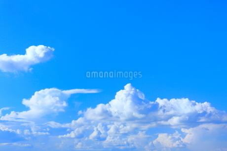 青空と入道雲の写真素材 [FYI02097974]