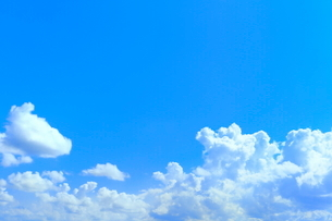 青空と入道雲の写真素材 [FYI02098344]