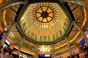 東京駅・丸の内ドーム天井の写真素材 [FYI02098504]