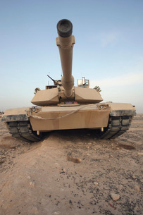 An M-1A1 Main Battle Tank.の写真素材 [FYI02099192]