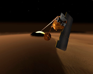 Concept for Mars Volcanic Emission Life Scout.の写真素材 [FYI02100068]