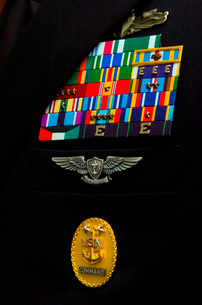 The command master chief badge.の写真素材 [FYI02100091]