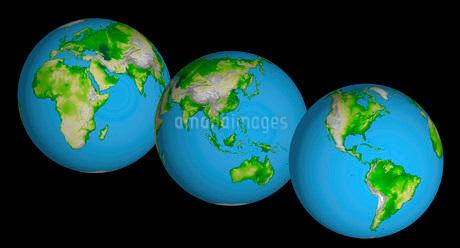 Topographic views of the world.の写真素材 [FYI02100457]