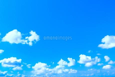 青空と雲の写真素材 [FYI02100640]