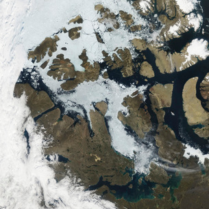 The Northwest Passageの写真素材 [FYI02100690]