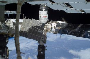 The Russian Orbital Segment of the International Space Statiの写真素材 [FYI02100768]