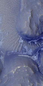 Noctis Labyrinthus formation on Mars.の写真素材 [FYI02100851]