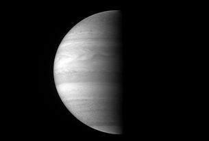 Close-up view of the planet Jupiter.の写真素材 [FYI02100863]