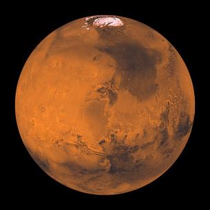 Global Color View of Mars.の写真素材 [FYI02100927]