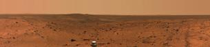 Panoramic view of Mars.の写真素材 [FYI02100991]