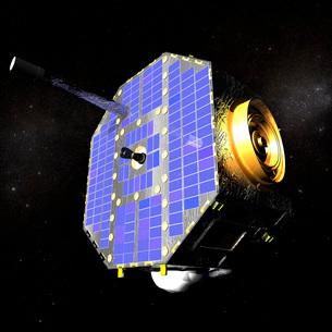 The Interstellar Boundary Explorer satellite.の写真素材 [FYI02100995]