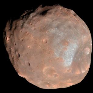 Mars moon Phobos.の写真素材 [FYI02101039]