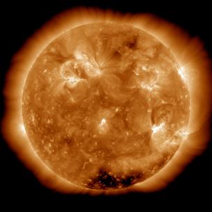 Solar activity on the Sun.の写真素材 [FYI02101046]