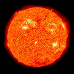 Solar activity on the Sun.の写真素材 [FYI02101072]