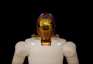 Robonaut 2, a dexterous, humanoid astronaut helper.の写真素材 [FYI02101183]