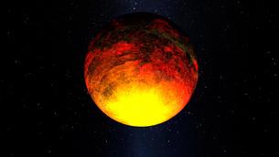 Artist concept of Kepler-10b.の写真素材 [FYI02101266]