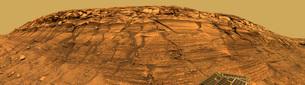 View of Burns Cliff on Mars.の写真素材 [FYI02101297]