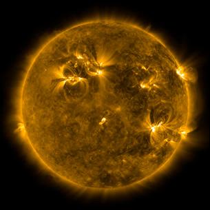 Solar activity on the Sun.の写真素材 [FYI02101376]