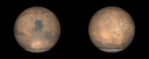 Global Views of Mars in late Northern Summer.の写真素材 [FYI02102477]