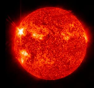Solar activity on the Sun.の写真素材 [FYI02102548]