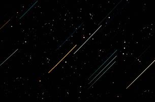 Star Trailsの写真素材 [FYI02102757]