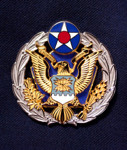 The new Headquarters Air Force badge.の写真素材 [FYI02102832]
