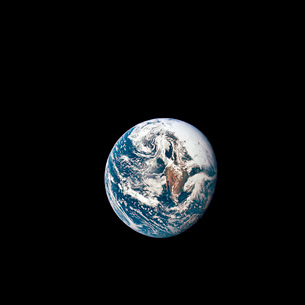 A view of Earth taken from the Apollo 10 spacecraft.の写真素材 [FYI02103087]