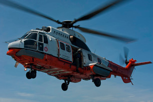 A Hong Kong Government Flying Service AS 332 L2 Super Puma.の写真素材 [FYI02104121]