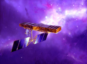 Artist's concept of Space Interferometry Mission.のイラスト素材 [FYI02104298]