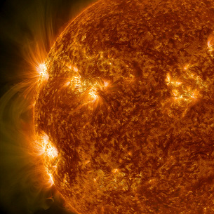 Solar activity on the Sun.の写真素材 [FYI02104888]