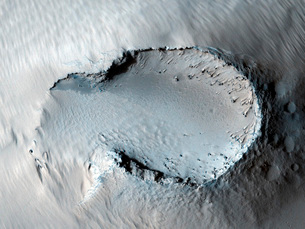 A small cone on the side of one of Mars' giant shield volcanの写真素材 [FYI02105071]