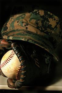 A Marine's athletic gear.の写真素材 [FYI02105178]