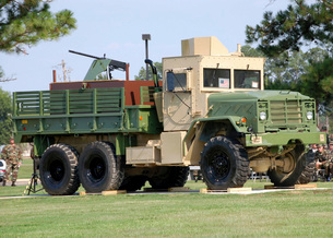 Air Force Gun Truckの写真素材 [FYI02105572]