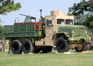 Air Force Gun Truckの写真素材 [FYI02105572]